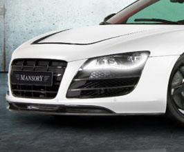 MANSORY Front Lip Spoiler (Carbon Fiber) for Audi R8 1
