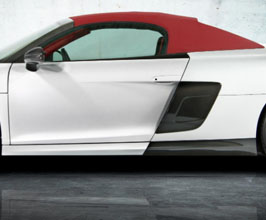 MANSORY Side Skirt Cover (Carbon Fiber) for Audi R8 1