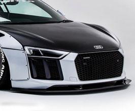 NEWING ALPIL Aero Front Lip Spoiler for Audi R8 1