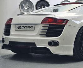 PRIOR Design PD Aerodynamic Rear Lip Spoiler (FRP) for Audi R8 1