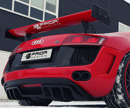 PRIOR Design PD-GT Aerodynamic Rear Bumper (FRP) for Audi R8 1