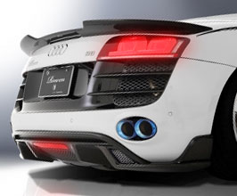 ROWEN World Platinum Aero Rear Under Extensions for Audi R8 1