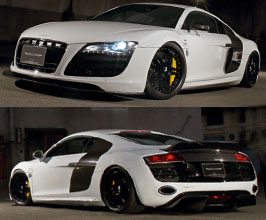 Liberty Walk LB Performance Complete Body Kit with Version 2 Rear Wing for Audi R8 1
