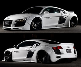 Liberty Walk LB Works Complete Wide Body Kit with Version 2 Rear Wing for Audi R8 1