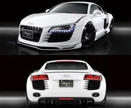 ROWEN World Platinum Aero Spoiler Lip Kit for Audi R8 1