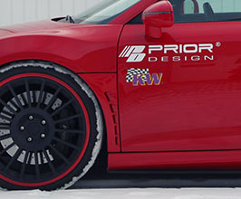 PRIOR Design PD-GT650 Aerodynamic Front Lower Vented Fenders (FRP) for Audi R8 1
