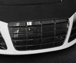 MANSORY Front Grill Mask (Carbon Fiber) for Audi R8 1