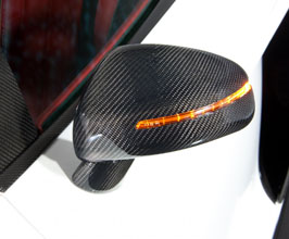 MANSORY Mirror Foot Base (Carbon Fiber) for Audi R8 1