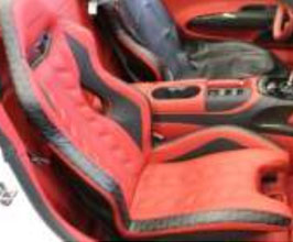MANSORY Sports Seats - Pair (Leather with Carbon Fiber) for Audi R8 1