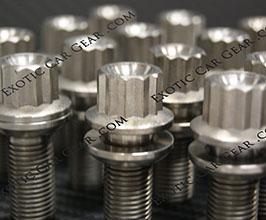 Exotic Car Gear Two-Piece Wheel Bolts (Titanium) for Audi R8 1