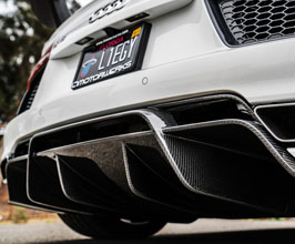 1016 Industries Aero Rear Diffuser for Audi R8 2