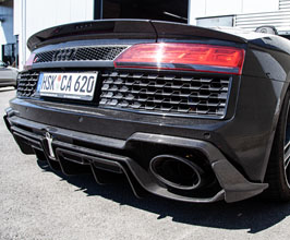 Capristo Rear Diffuser (Carbon Fiber) for Audi R8 2