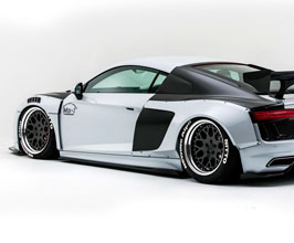 NEWING ALPIL Aero Front and Rear Ducted Over-Fenders Set for Audi R8 2