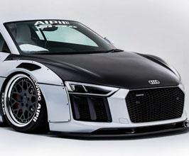 NEWING ALPIL Aero Front Hood Bonnet (Carbon Fiber) for Audi R8 2