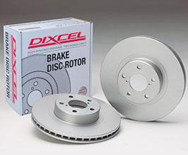 DIXCEL PD Type Plain Disc Rotors - Rear for Audi R8 2