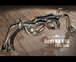 Fi Exhaust Valvetronic Exhaust System with Remote (Stainless) for Audi R8