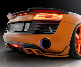 ROWEN World Platinum Aero Rear Under Extensions for Audi R8