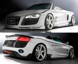 ROWEN World Platinum Aero Spoiler Lip Kit for Audi R8