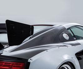 NEWING ALPIL Aero Rear Fender Quarter Panels (Carbon Fiber) for Audi R8