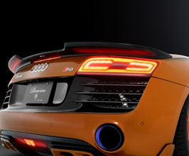ROWEN World Platinum Aero Rear Trunk Spoiler for Audi R8