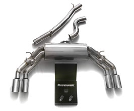 ARMYTRIX Valvetronic Exhaust System with Mid Pipes (Stainless) for Audi TT MK3