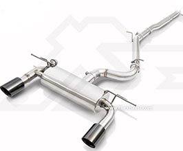 Fi Exhaust Valvetronic Exhaust System with Mid Pipe and Remote (Stainless) for Audi TT MK3