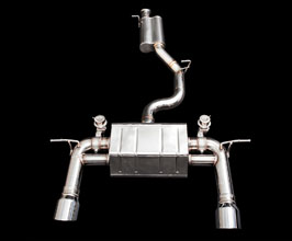 iPE Exhaust Valvetronic Exhaust System with Mid Pipes (Stainless) for Audi TT MK3