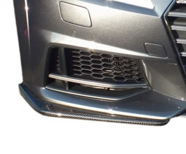 Aero Workz Front Lip Side Spoilers - Type FS (Carbon Fiber) for Audi TT MK3
