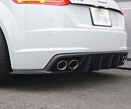 balance it Aero Rear Diffuser for Audi TT MK3