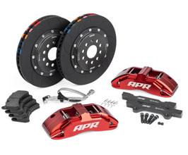 APR Front Brake Kit - 6POT with 350mm 2-Piece Rotors (Red) for Audi TT MK3