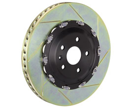 Brembo Gran Turismo Brake Rotors - Front 380x34mm 2-Piece Slotted for Audi TT MK3