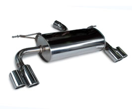 3D Design Exhaust System - Quad (Stainless) for BMW 3-Series F