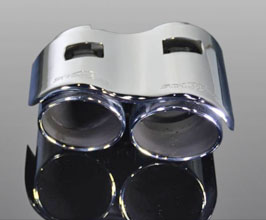 AC Schnitzer Racing Evo Exhaust Tips (Chrome) for BMW 3-Series F