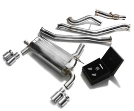 ARMYTRIX Valvetronic Catback Exhaust System with Quad Tips (Stainless) for BMW 3-Series F