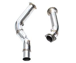 iPE Exhaust F1 Downpipe with Cat Bypass (Stainless) for BMW 3-Series F