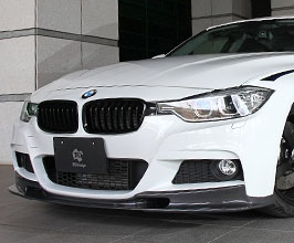3D Design Aero Front Lip Spoiler (Carbon Fiber) for BMW 3-Series F