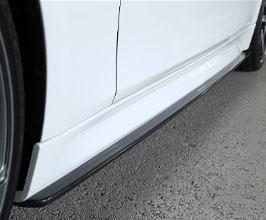 3D Design Aero Side Skirts (Carbon Fiber) for BMW 3-Series F