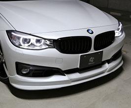 3D Design Aero Front Half Spoiler (Urethane) for BMW 3-Series F