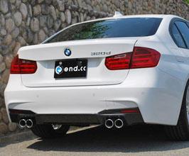 end.cc Aero Rear Diffuser for BMW 3-Series F