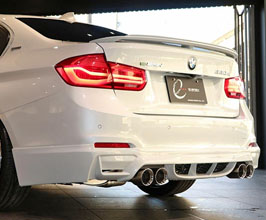 Energy Motor Sport EVO Rear Half Spoiler (FRP) for BMW 3-Series F