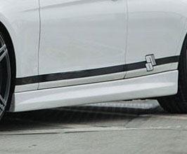 PRIOR Design PDM-1 Aero Side Steps (FRP) for BMW 3-Series F