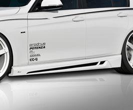 ROWEN World Platinum Aero Side Skirts (FRP) for BMW 3-Series F