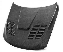 Seibon GTR-Style Front Hood (Carbon Fiber) for BMW 3-Series F