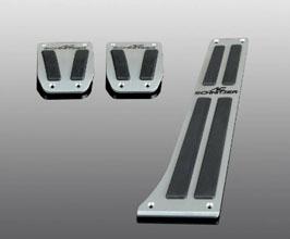 AC Schnitzer Sport Pedal Set for Manual Transmission - USA Spec (Aluminum) for BMW 3-Series F