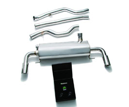 ARMYTRIX Valvetronic Catback Exhaust System (Stainless) for BMW 3-Series G