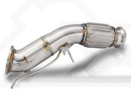 Fi Exhaust Racing Cat Pipe - 100 Cell (Stainless) for BMW 3-Series G