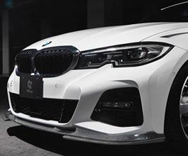 3D Design Aero Front Lip Spoiler (Carbon Fiber) for BMW 3-Series G