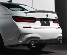 3D Design Aero Rear Diffuser - Dual (Carbon Fiber) for BMW 3-Series G