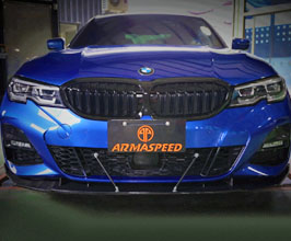 ARMA Speed Front Diffuser (Carbon Fiber) for BMW 3-Series G