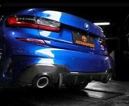 ARMA Speed Rear diffuser (Carbon Fiber) for BMW 3-Series G